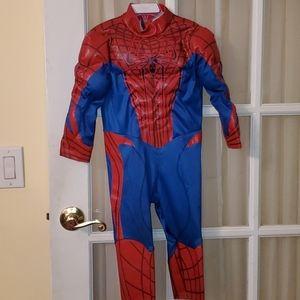 Boy's Spiderman costume, size 2/3